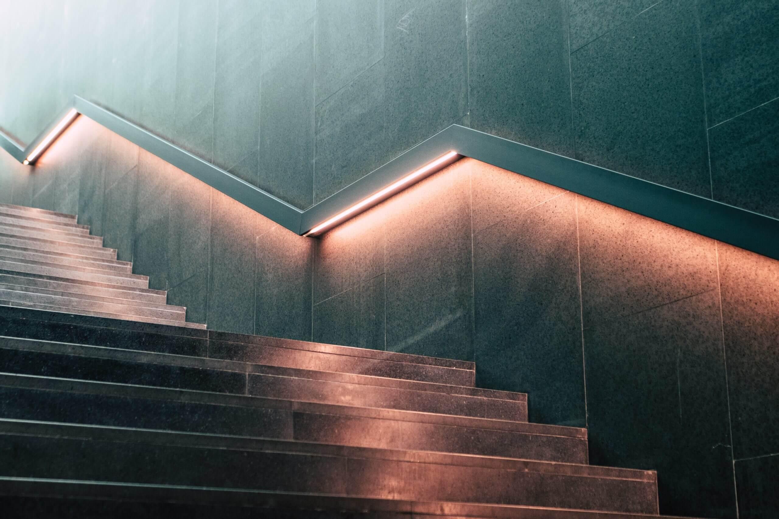 Die Stufen zu mehr Erfolg